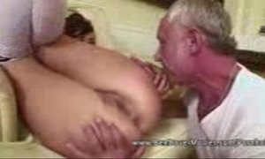 ass to mouth  grandpa  natural big tits  old cunt