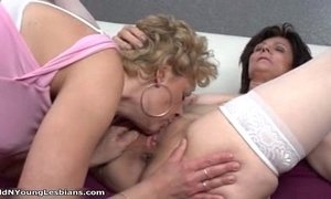 3some  crazy  horny mature  lesbian milfs  old cunt  young