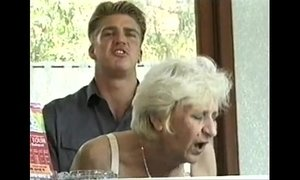blonde mature  fuck  granny  hairy pussy  hotel