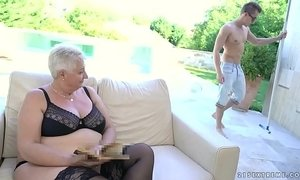 fat mom  grandma  jizz  old granny  tits