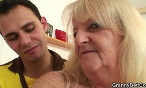 blonde mature  fuck  grandma  teen and older