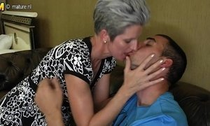 cock  family  mom  skinny mature  son and mommy