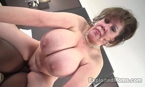 black cock  cougar mama  first time  interracial  lady