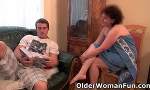 chubby  couch  drilled  grandma  granny